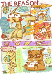 The reason why pikachu dind't want to evolve by Guashineen