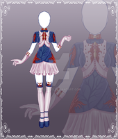 [Close] Adoptable Outfit Auction 47 by Kolmoys