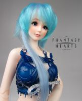 3D Printer BJD, Blue Futuer by RMLBJD