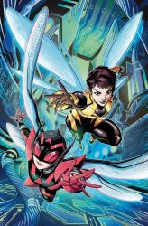 Unstoppable Wasp 2 Variant Cover by LucianoVecchio