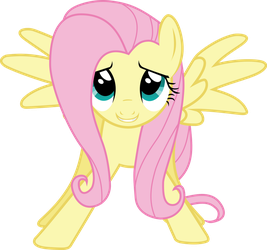 Fluttershy Enters The Room by SNX11