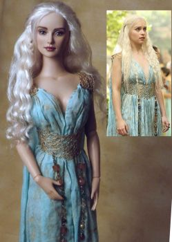 Game of Thrones Daenerys OOAK Doll by ShannonCraven