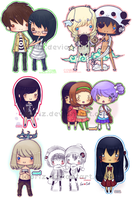 Chibi Collection by Laoriz