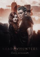 Shadowhunters | Clary and Jace by Riotovskaya