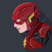 The_Flash_Ezra_Miller_PopHeadShot by KZDoesDesigns