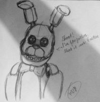 FNAF-Shoot! It's Easter! by Velatina-young