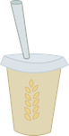 Smoothie: Extra Hay by Hourglass-Vectors