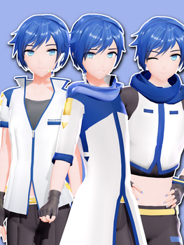 [DL] YYB Styled Kaito by maydayfireball