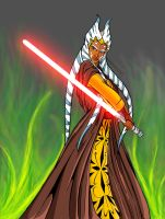 Ahsoka by forcecrush