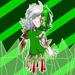 Crystal gore/Gotta Sweep by Isis-neko123