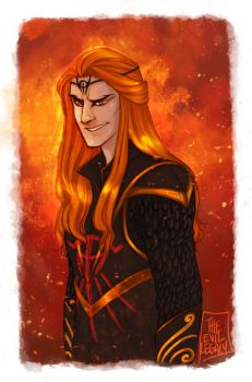 LOTR - Sauron by the-evil-legacy
