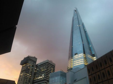 The Shard by Pr-evening by BlackBeltJonzey