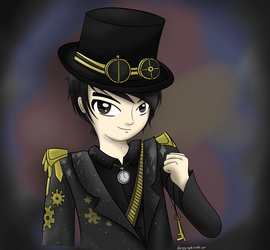 Brendan Urie- Ballad of Mona Lisa by Baa-Chan01