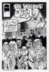 The Walking Dead. Family Guy Special by wolvesbear