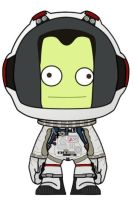 Kerbal Astronaut in Eva Suit by jeffmcdowalldesign