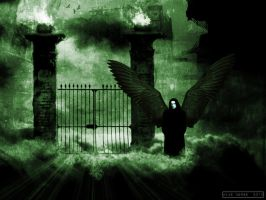 St. Peter At  The Back Gates by VoodooHammer