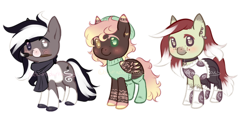 [CLOSED] Pony Adopts I by dakotadarkhooves