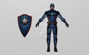 Captain America (All New All Different) by Pitermaksimoff