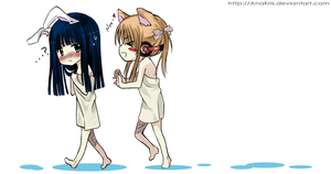 +After the bath+ by AnaKris