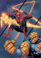 Spider Man Thursday 38 Color by logicfun