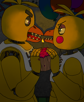 Five nights at freddy's (Chica) by ginushka123456789