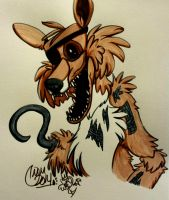 Five Nights at Freddy's - Foxy the Pirate by CarmanMM-Dirda