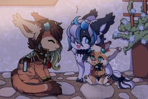 Faire Weather Friends - PROMPT by LizzyJun