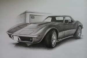 Chevrolet Corvette C3 by NEMYV8
