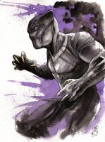 Black Panther commish by SpaciousInterior