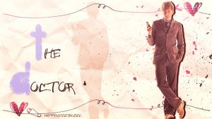 The 10th doctor wallpaper by HappinessIsMusic