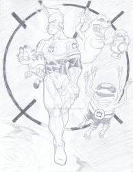 Larfleeze - McKay by powerbomb1411