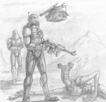 mandalorian by Flick-the-Thief