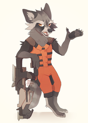 Rocket by MapleSpyder