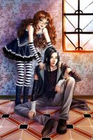 Request: Sophia and Angel by starca