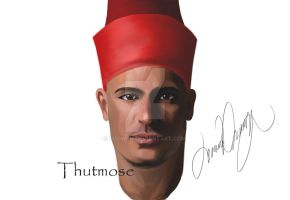 Thutmose by ruowen
