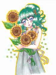 Sunflower Sam by theMimicontrol