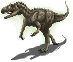 Allosaurus by EWilloughby