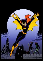 Batgirl 3 by Bruce Timm by DrDoom1081