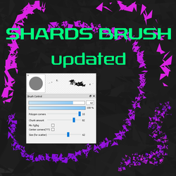 Free Shards brush for FireAlpaca/Medibang by Nuubles