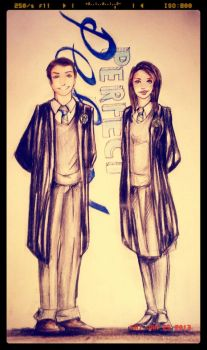 Ravenclaw prefects- by VannyNuovaluna