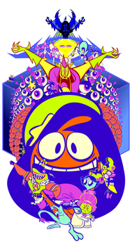 Wander Over Yonder Poster Set by andrewk