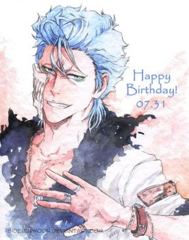 BLEACH: Grimmjow's Biryhday by Sideburn004