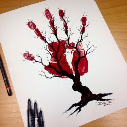 Tree of Nerves PRINT! by AtomiccircuS