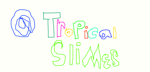 come shop @ tropical slimes in instagram!