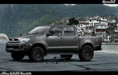 Hilux Bope Caveirao by CyraxDS