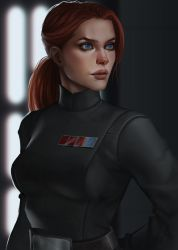 Star Wars Imperial Officer ~ Commission by Xelandra