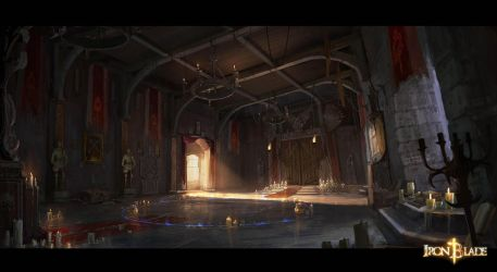 Corvin Castle Room 2 Concept by Darkcloud013