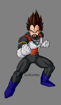 King Vegeta by Gokuten
