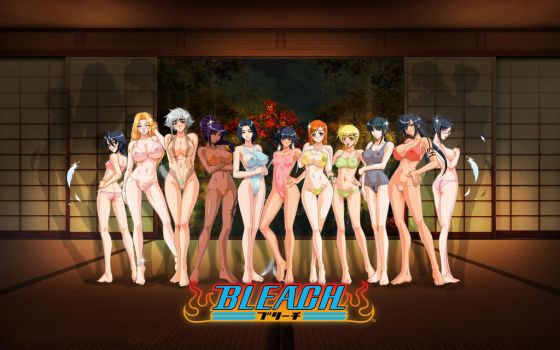Girls of Bleach by kitolo