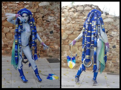 Shiva FFX by Yurai-cosplay